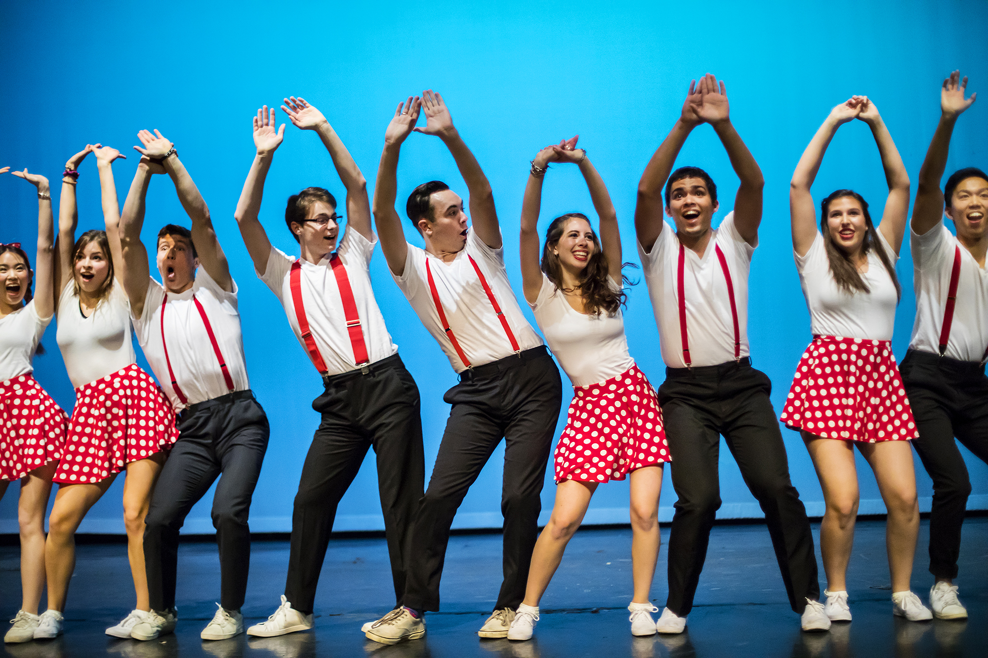Student Dance Groups Share Center Stage