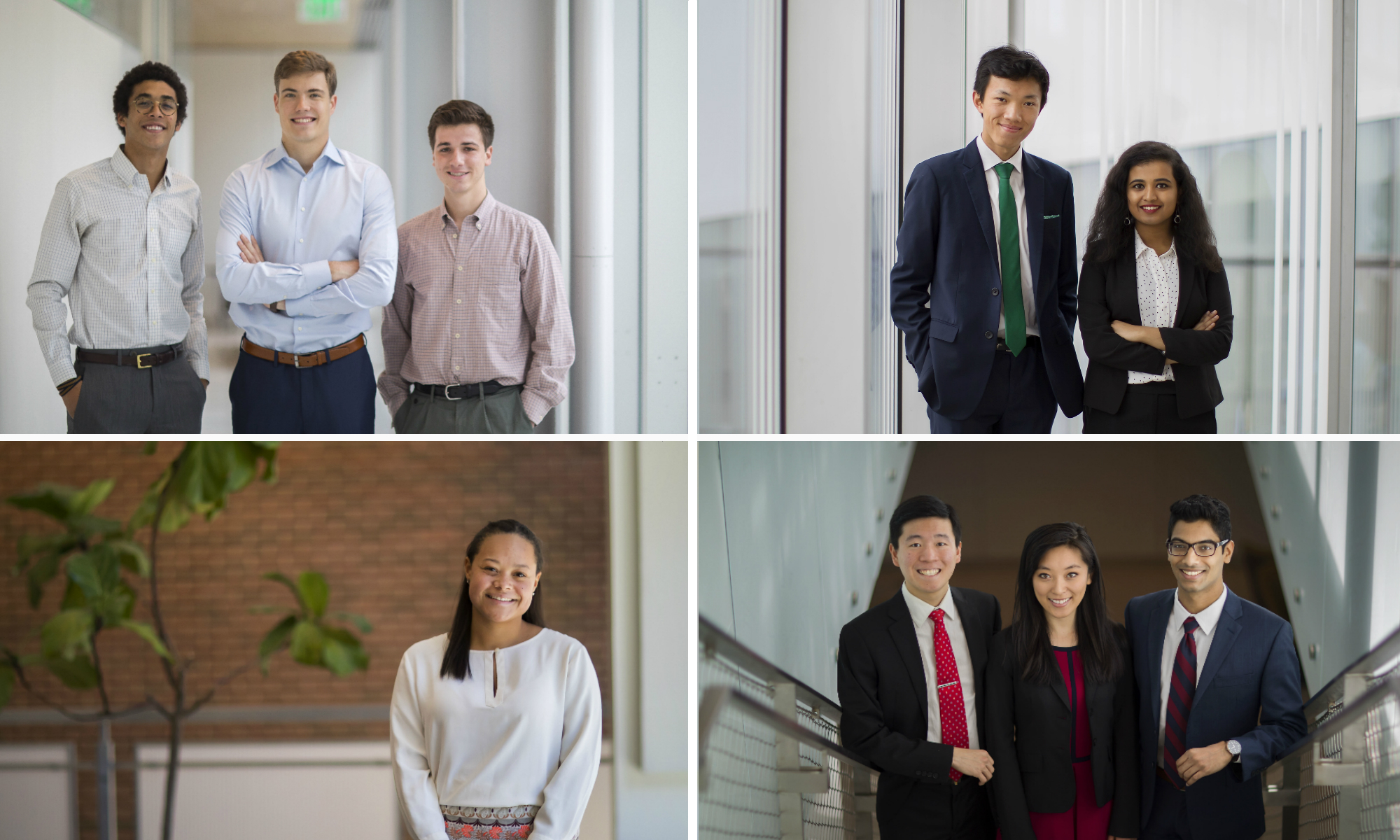 Class of 2018 President's Engagement and Innovation Prize winners