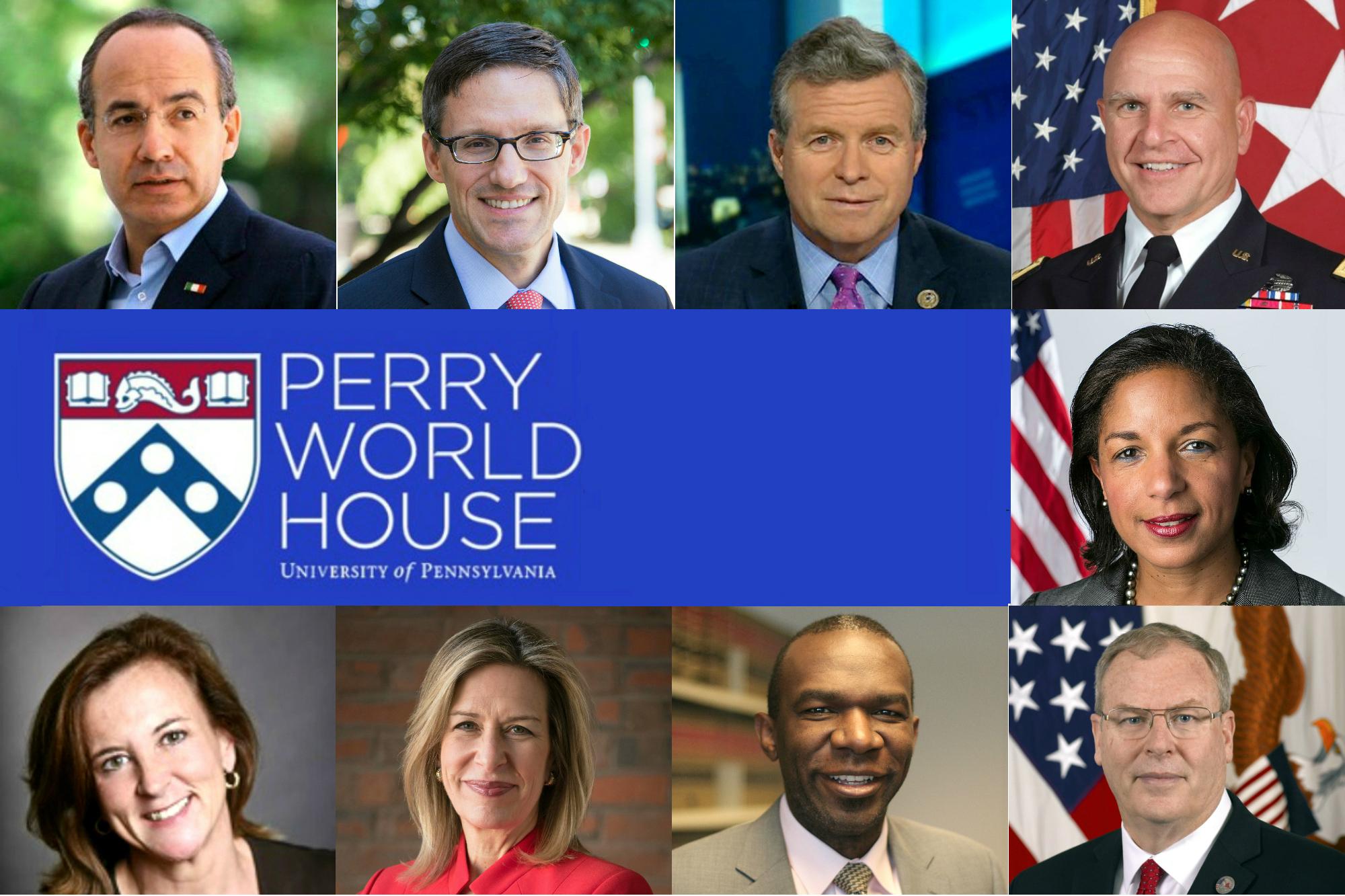 University of Pennsylvania Announces 2018-2019 Perry World House Fellows