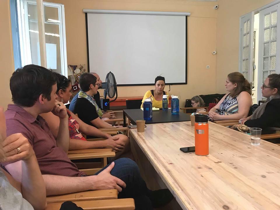 DSW Cohort in Greece meeting
