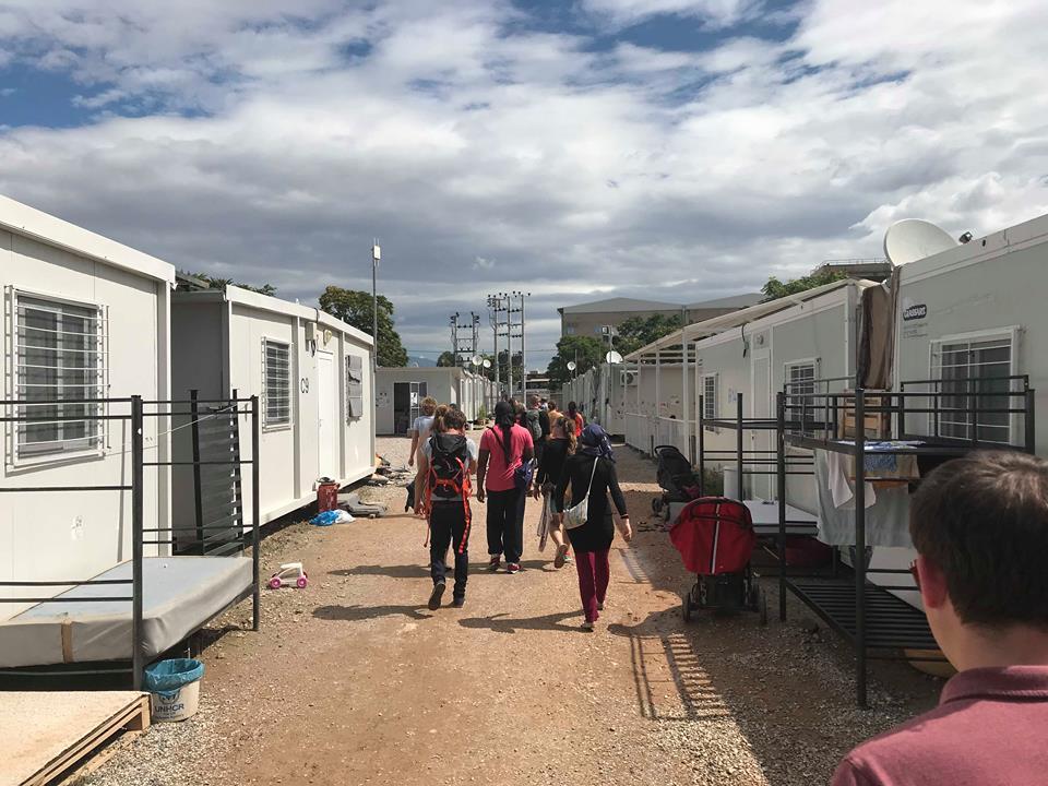 DSW Cohort Touring Refugee Camp