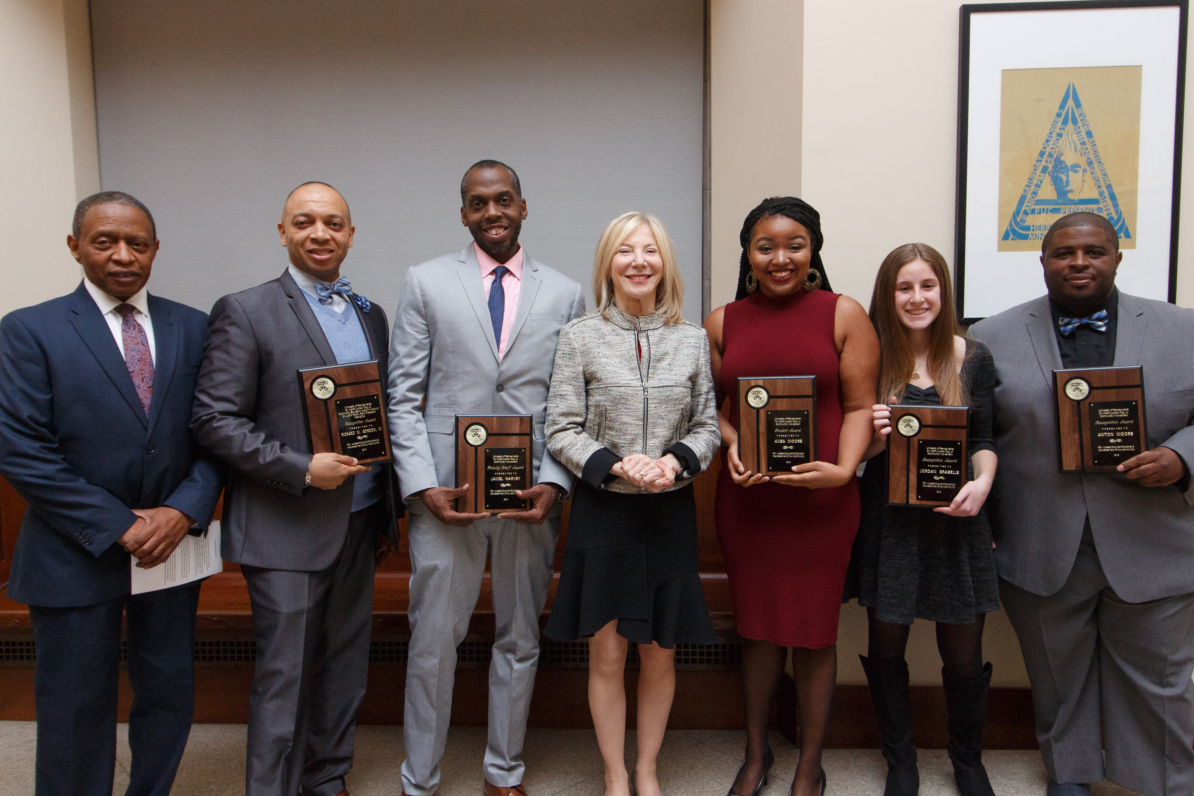 03ca5ff5e53 Winners of the Martin Luther King Jr. Community Involvement Awards ...