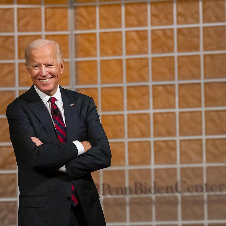 With Joe Biden, talking politics is always personal   Penn Today
