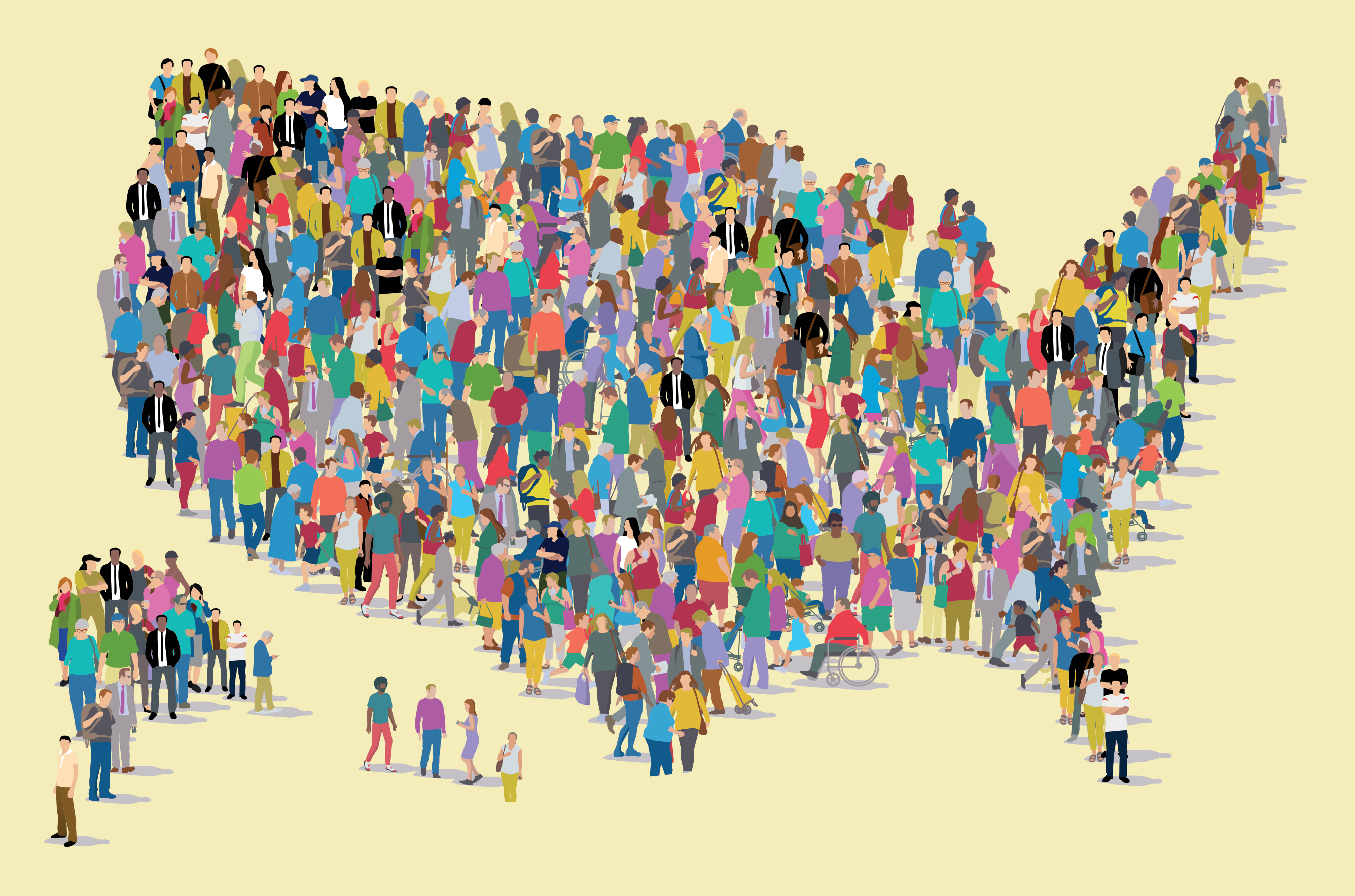 People Map Of The Us A philanthropic approach to strengthening democracy | Penn Today