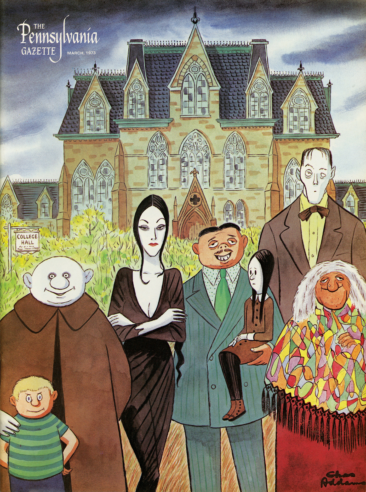 The Addams Family Legacy Lives On Penn Today