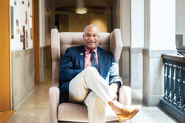 Herman Beavers' balancing act of creativity and educational innovation | Penn Today