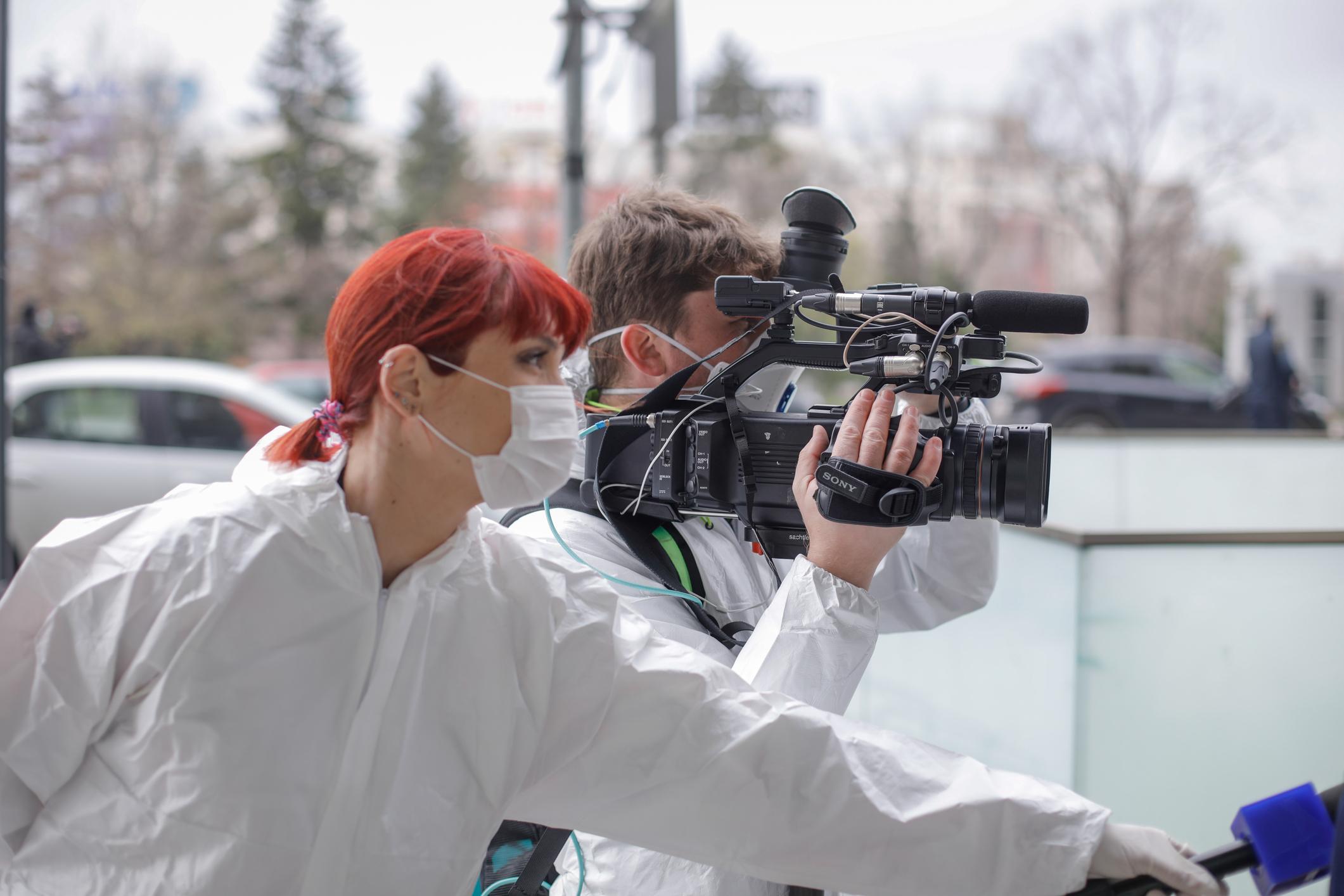 Journalists brave danger to report on coronavirus | Penn Today