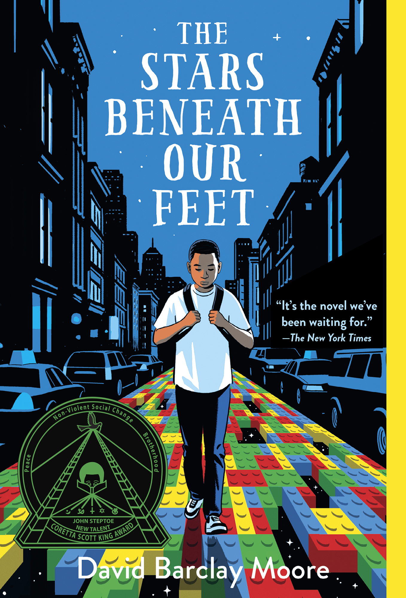 The Stars Beneath Our Feet (David Barclay Moore; Knopf Books for Young Readers)