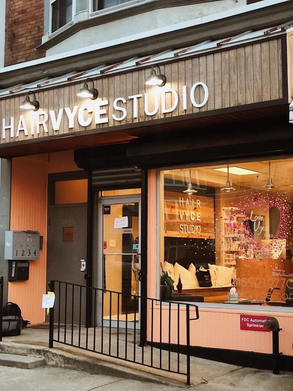 Hair Vyce Studio exteror
