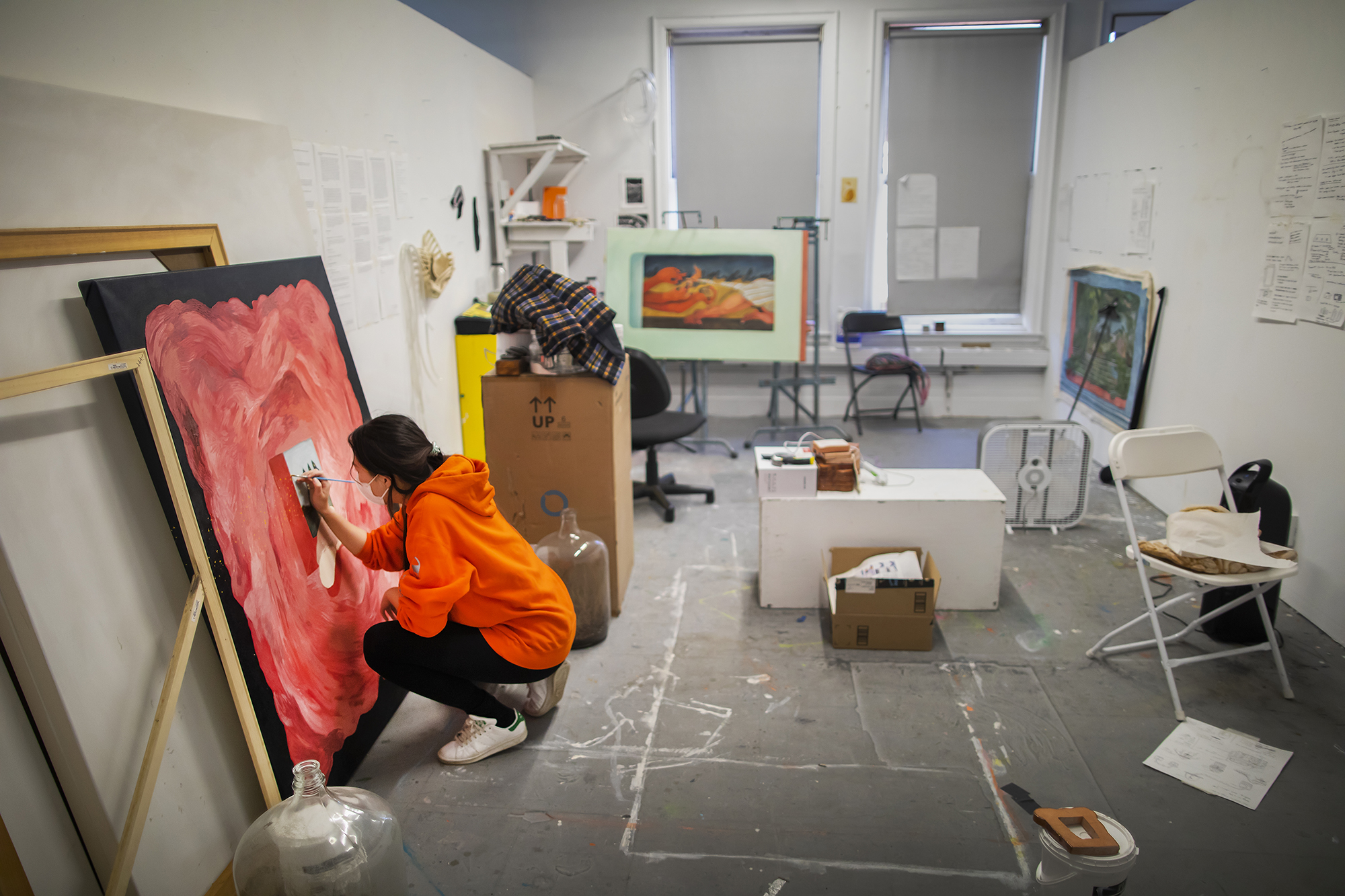 Masters of Fine Arts students find new inspiration during pandemic
