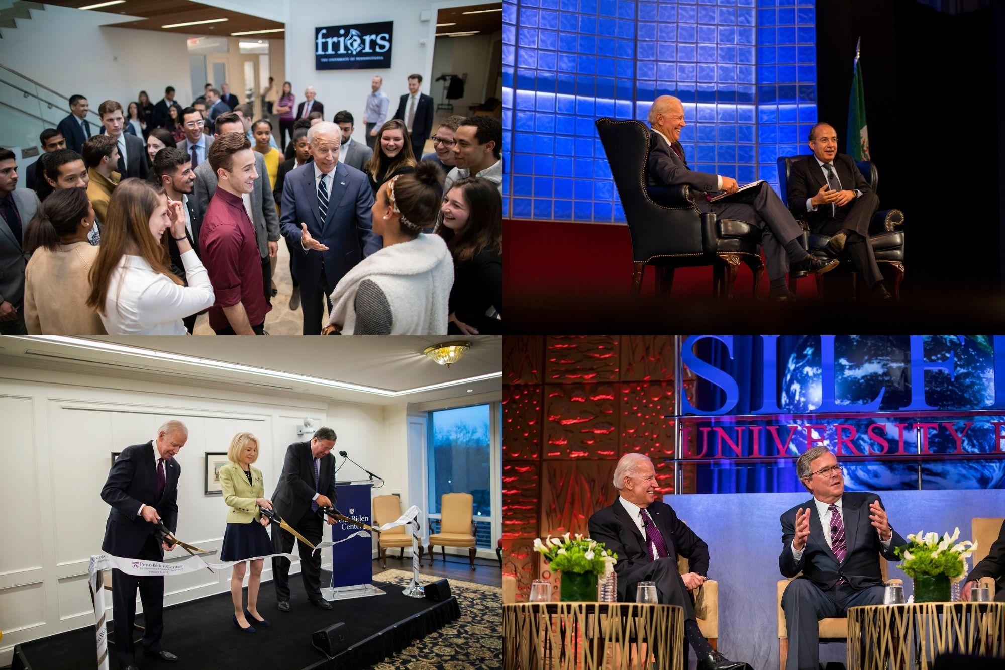 Joe Biden's longtime ties to Penn