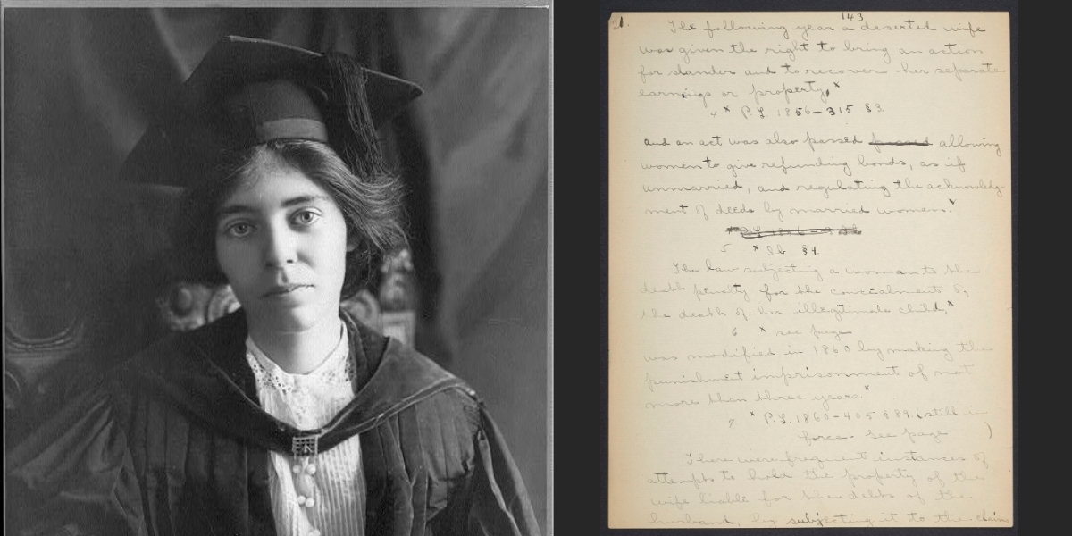 Alice Paul's mysterious manuscript | Penn Today