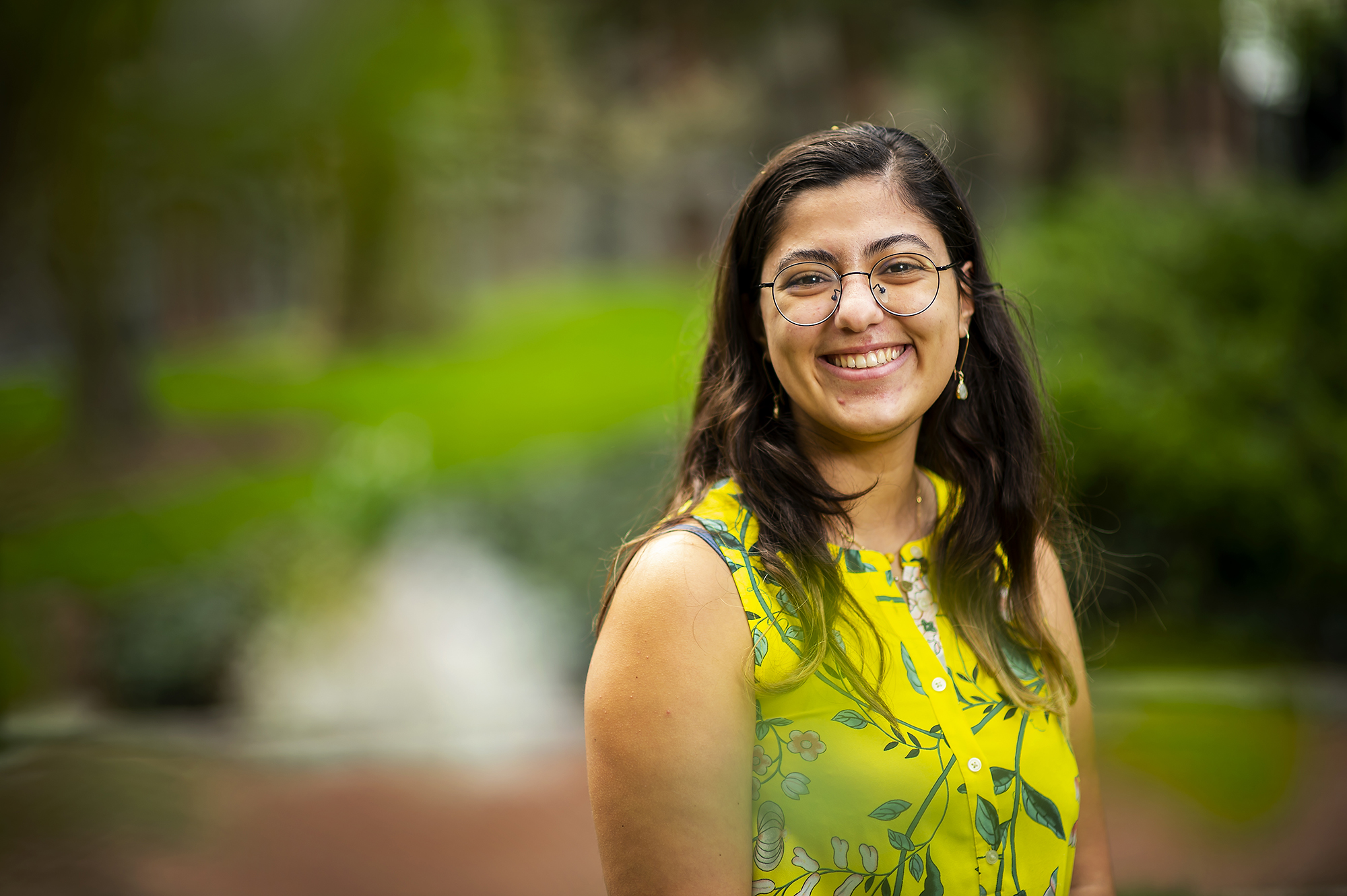 a profile of Yasmina Al Ghadban