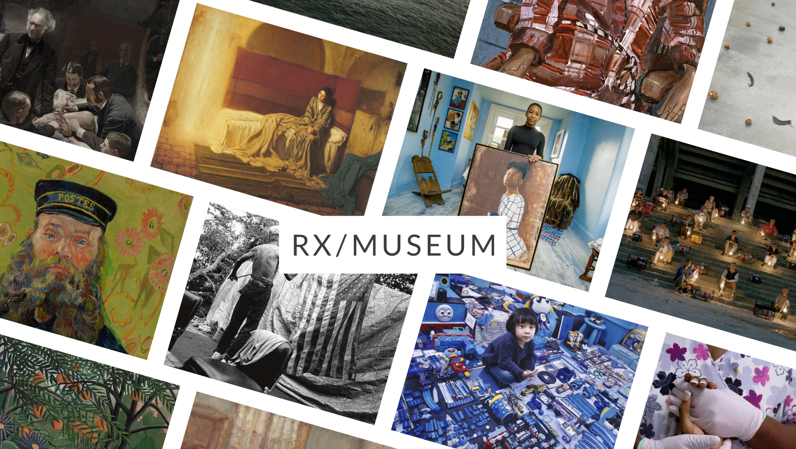 Rx/Museum and various artworks