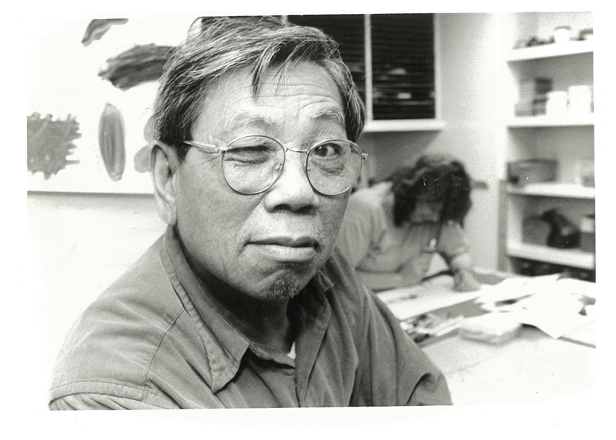 Chen Lok Lee wearing glasses