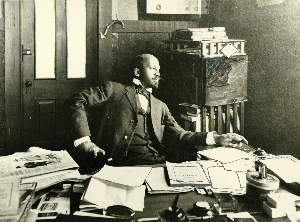 the times and life of w e b du bois at penn penn current w e b du bois