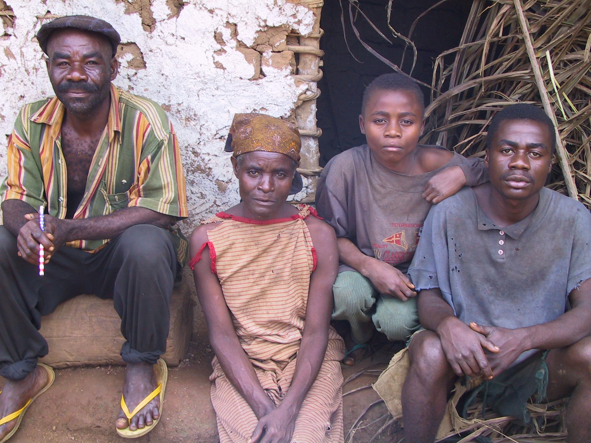 Bedzan Pygmies in Cameroon