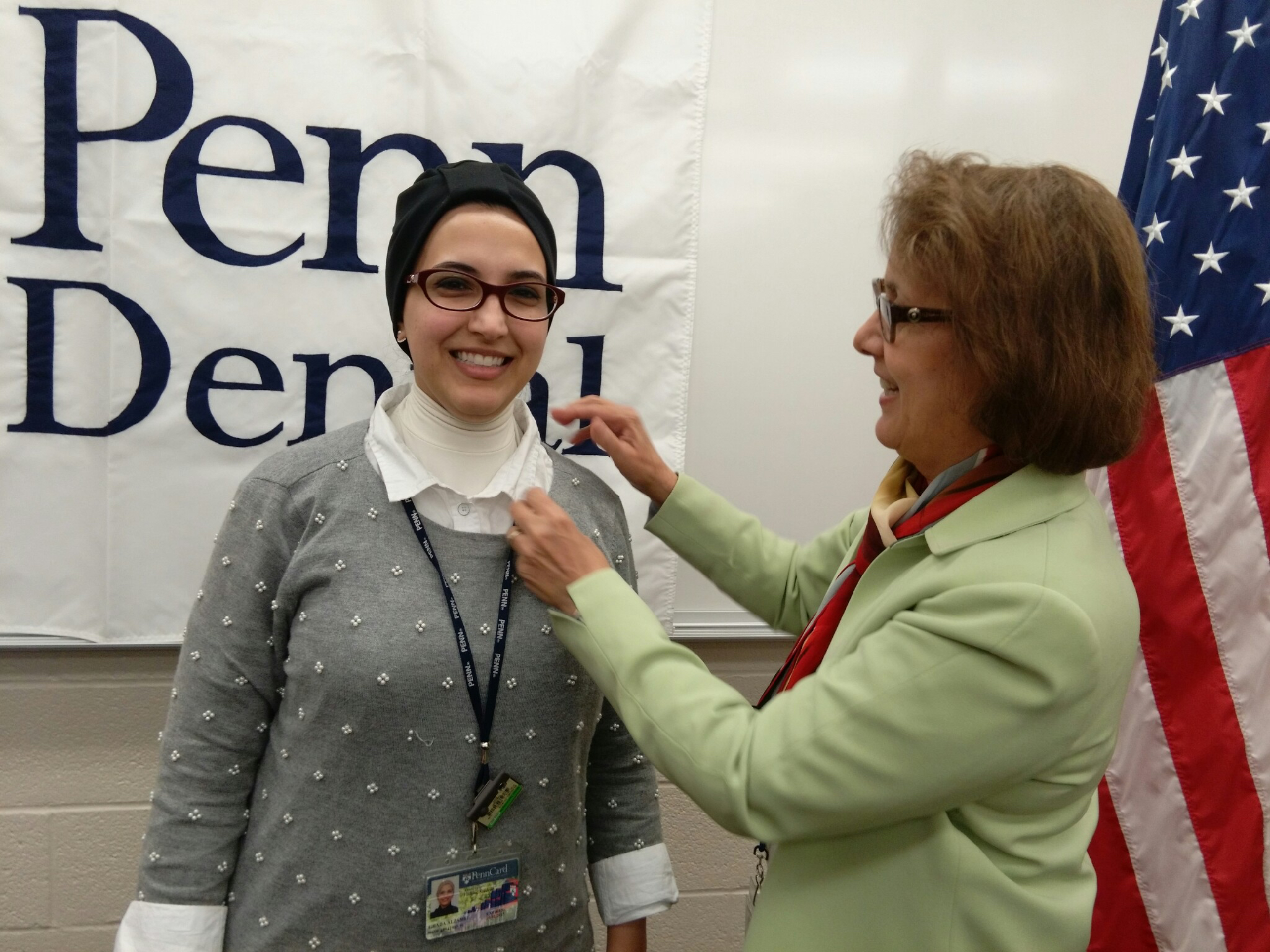 Ghada AlZamel, the first dentist to participate in Penn Dental Medicine's oral radiology fellowship program