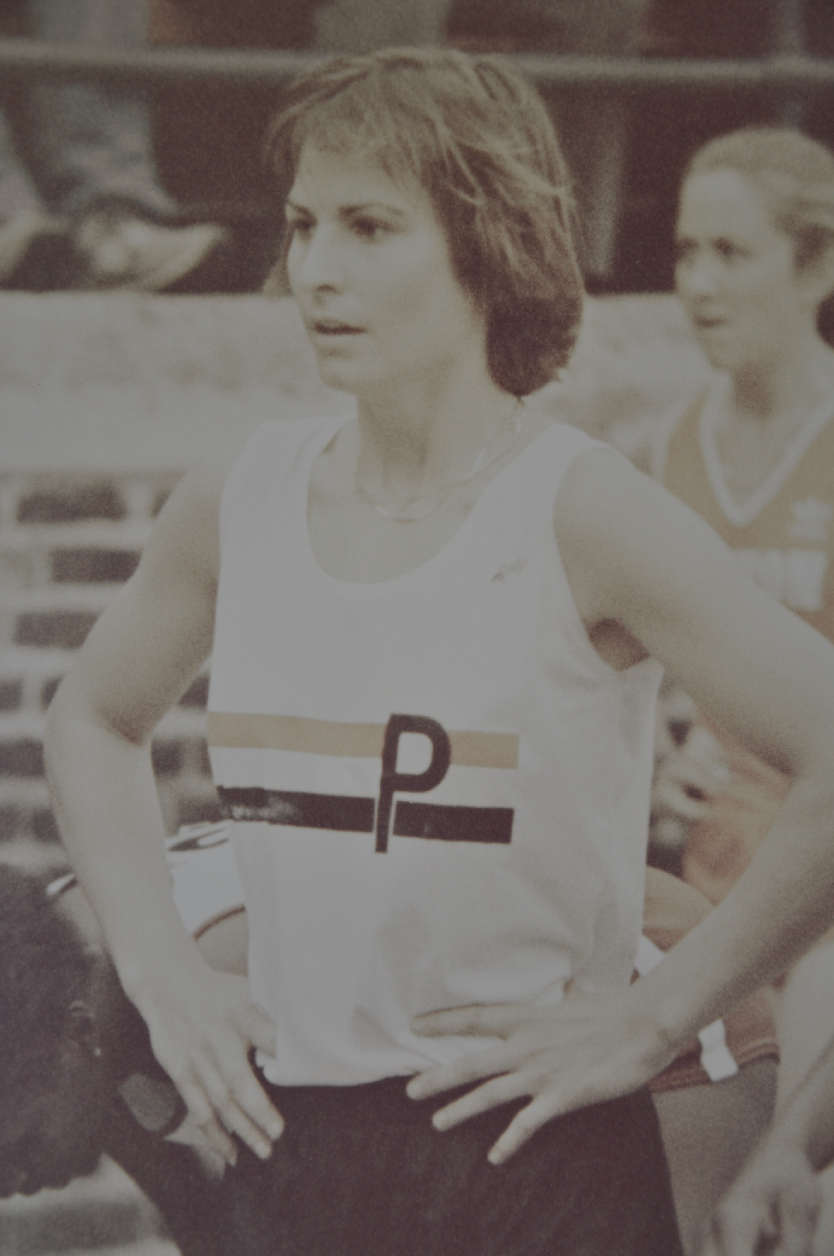Willig at the 1981 Penn Relays
