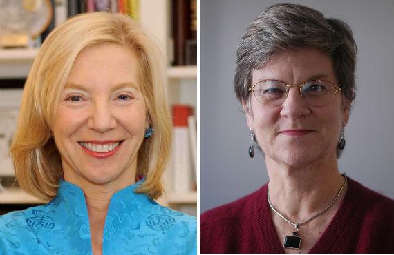 Amy Gutmann and Kathleen Hall Jamieson