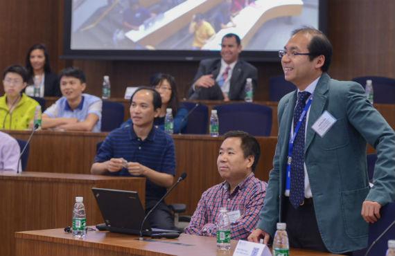 Jianbo Shi, SEAS professor at Penn Wharton China Center