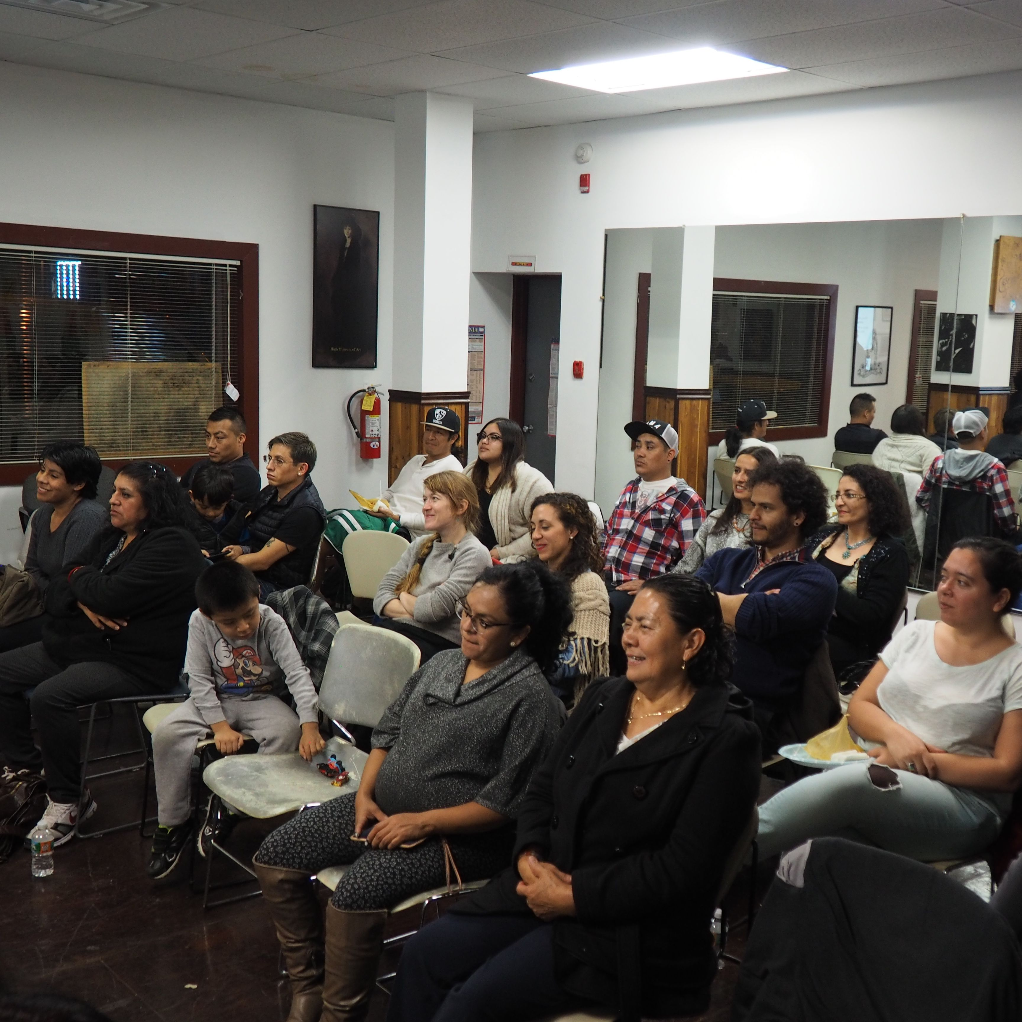 Parrado and colleagues presented their findings to the community in early November