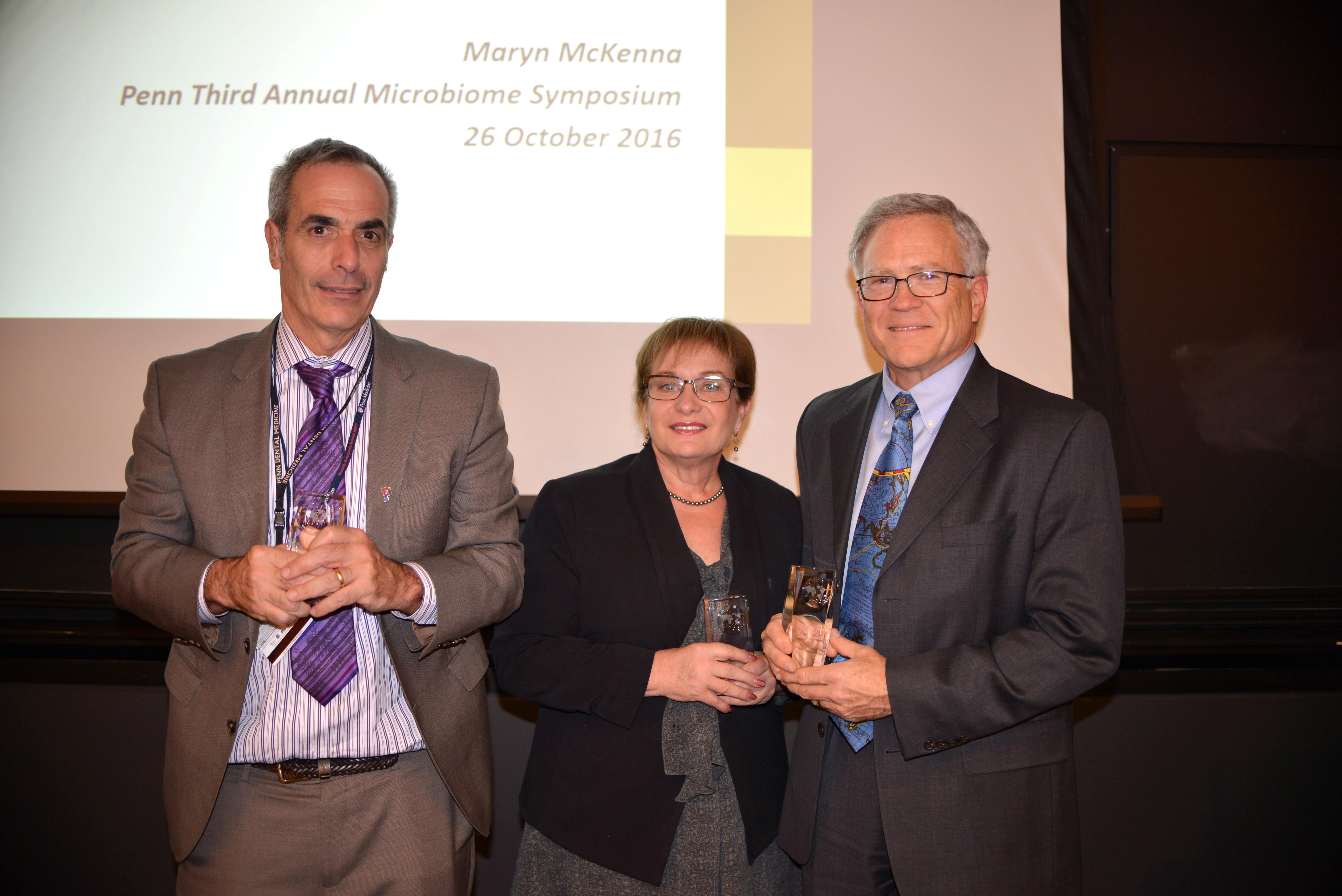 Elliot Hersh, Rosemary Polomano and John Farrar