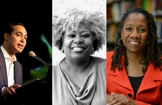 Julián Castro, Anthea Butler and Sherrilyn Ifill