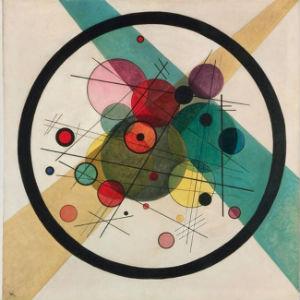 "Kandinsky's ""Circles in a Circle"" painting"