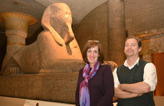 Jennifer Houser Wegner and Josef Wegner