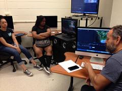 Digital editing with Waldo Aguirre