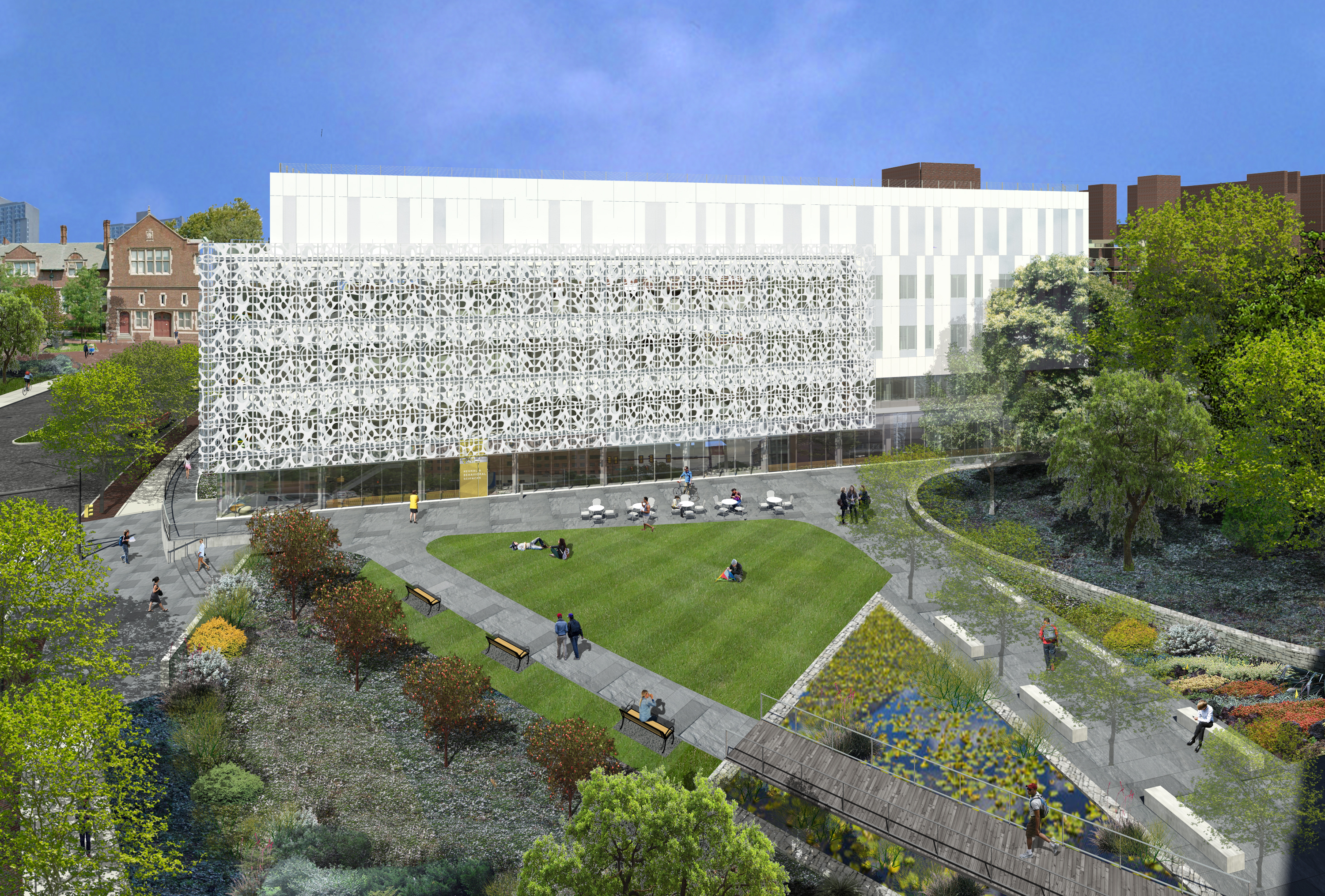 Elevated View from South. Rendering by the SmithGroup.
