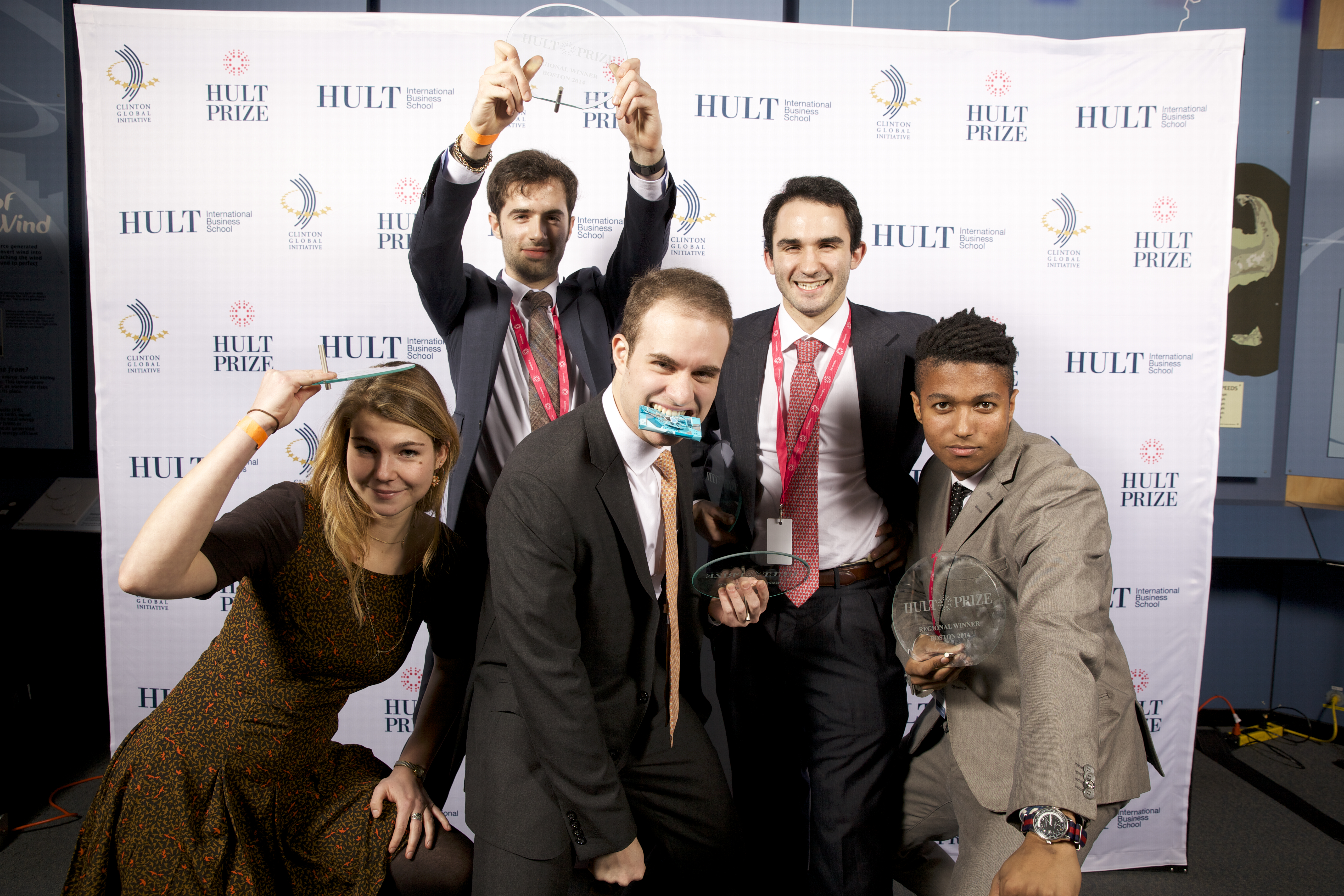 The Sweet Bites team at the Hult Prize Competition Final