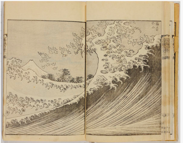 Katsushika Hokusai, One Hundred Views of Mount Fuji    Courtesy: Freer|Sackler Galleries