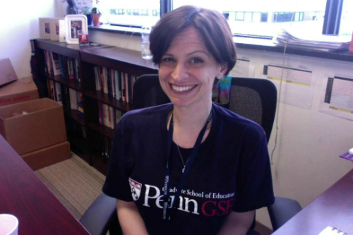 Mary Del Savio, director of Penn GSE's TFA MSEd and certification program.