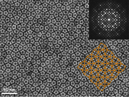 Quasicrystals don't have translational symmetry, so new imaging techniques are needed to deduce their structure.