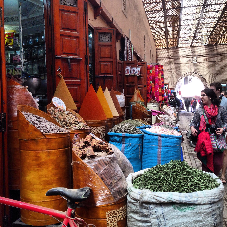 Morocco Medina of Marrakesh Photo: Lisa Cheung