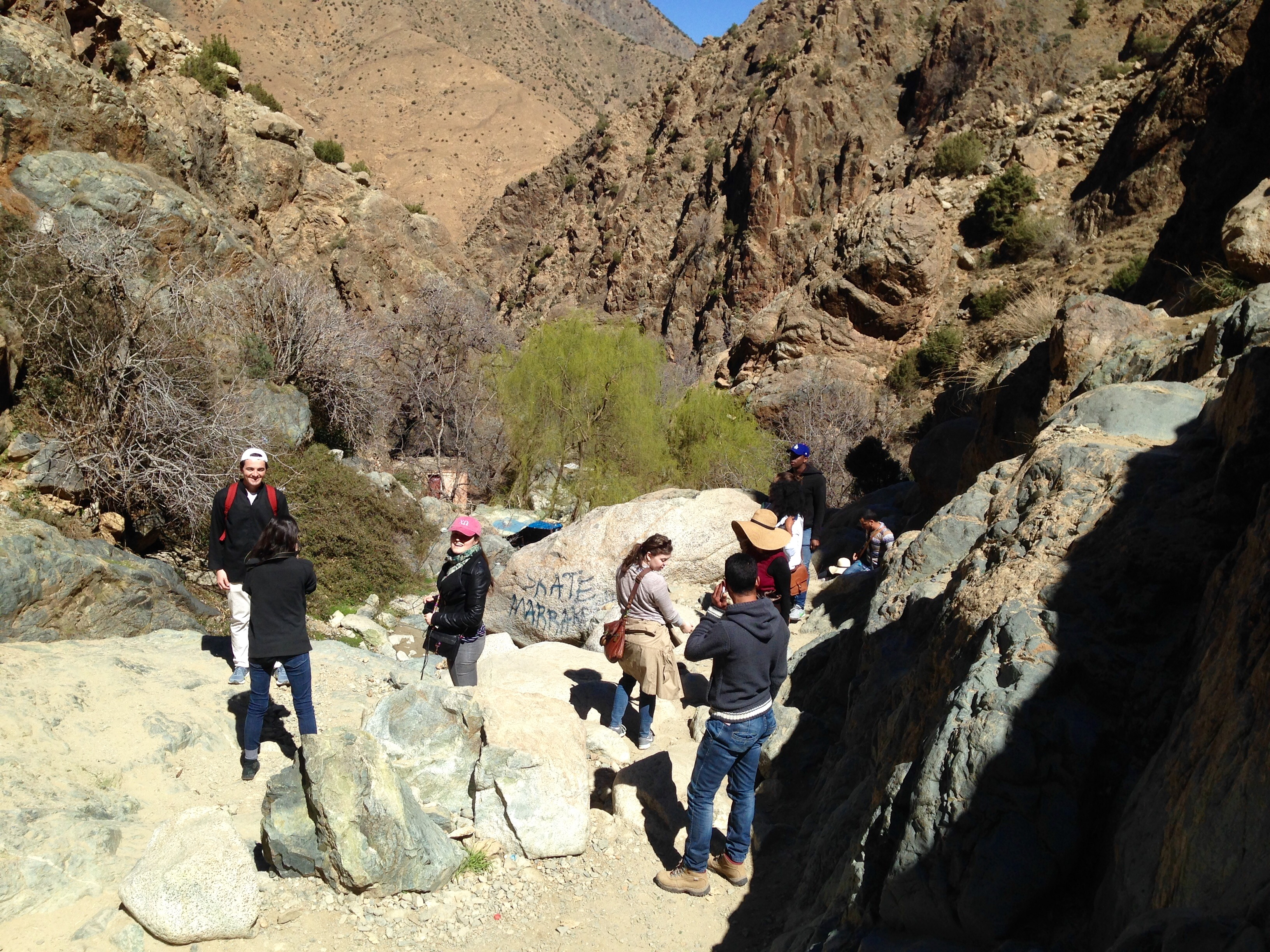 Hiking Atlas Mountain, Morocco  Photo: Lisa Cheung
