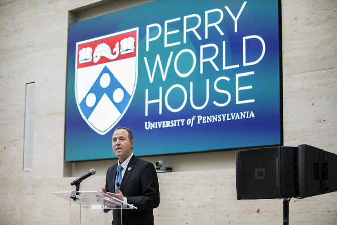 Schiff, Adam.Perry World House 1
