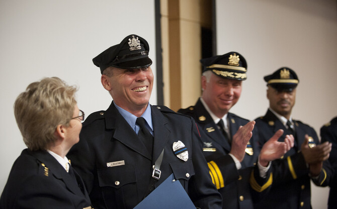 City Honors Penn as Public and Fire Safety Partner