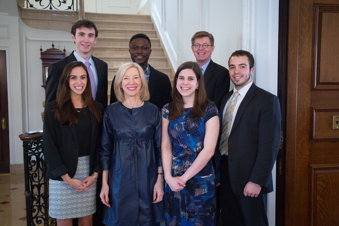 Celebrating Inaugural President's Engagement Prize Recipients