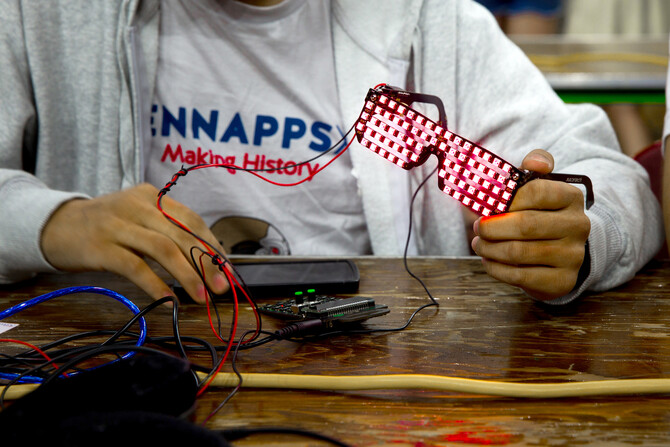 Creative Students Get Their Hack on at PennApps