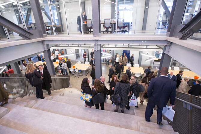 Where Ideas Go to Work: Penn Celebrates Grand Opening of Pennovation Center