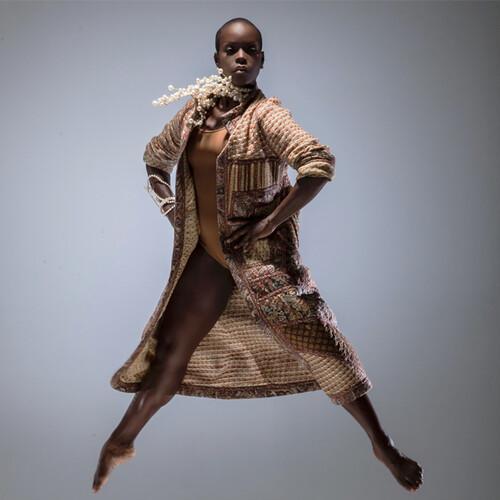 Dancer making a pose