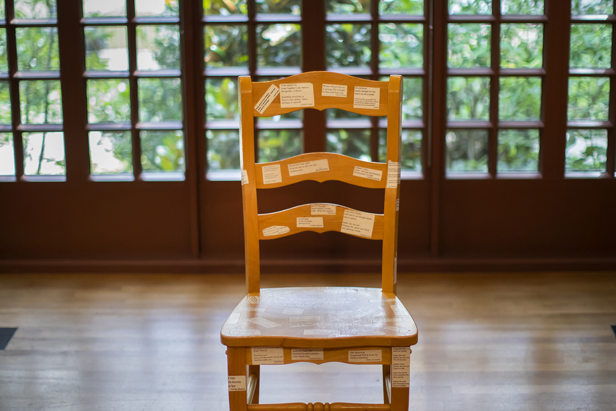 kelly writers house chair one