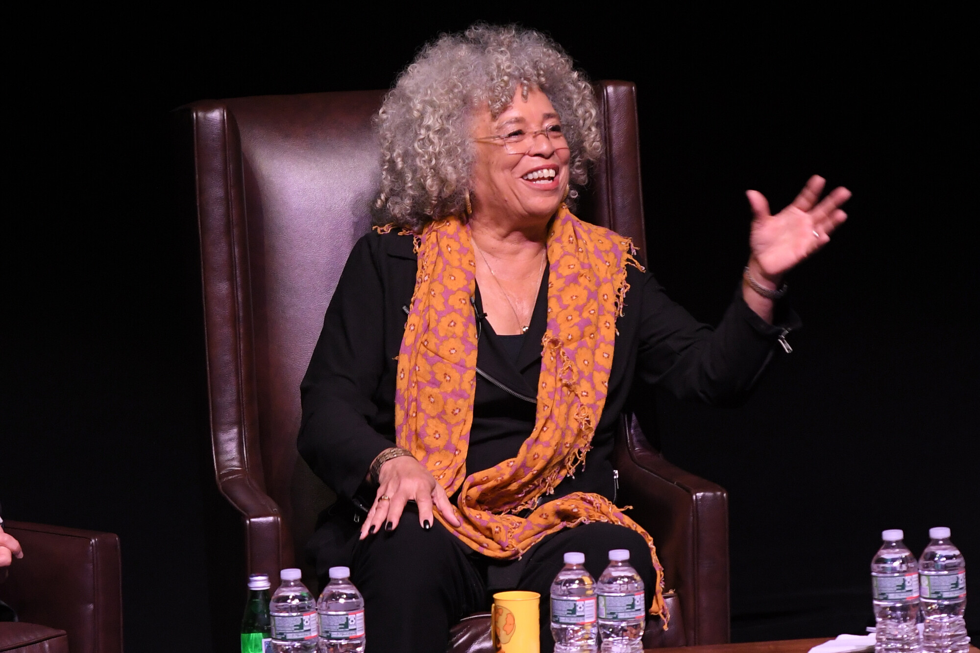 Angela Davis at the 25th annual MLK symposium.
