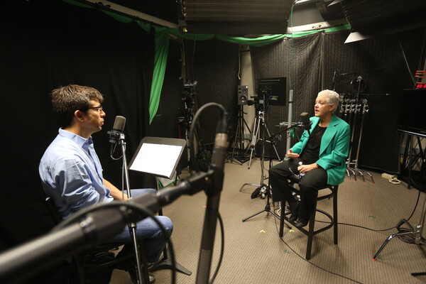 "Former EPA administrator Gina McCarthy talks with ""Energy Policy Now"" producer Andy Stone."