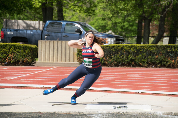 Thrower breaks school discus, shot put records | Penn Today