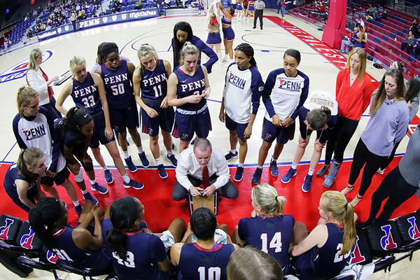 Penn women's basketball Europe
