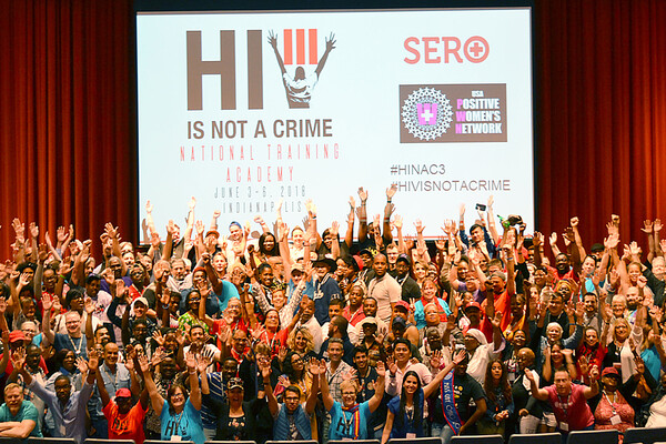 SERO HIV/AIDS activists together